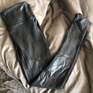Faux leather Spanx legging